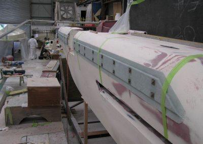 9.85 foam collar base taking shape