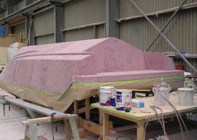 9.85 hull ready for primer