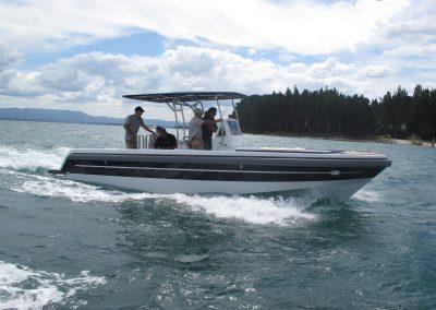 Dive tENDER TO SERENE sea trials